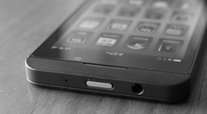 Nieuwe BlackBerry Z10 nu al te koop op eBay - zwartwit