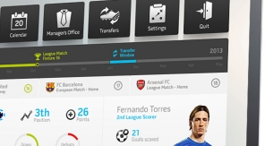 Gaaf experimenteel Interface Design voor FIFA13