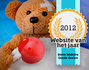 Beste website van het jaar 2012 voor goede doelen!