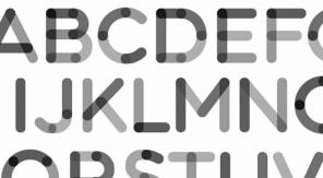 42 vette gratis fonts voor designers - zwartwit
