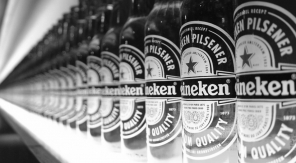 Heineken Ignite: het eerste interactieve biertje - zwartwit