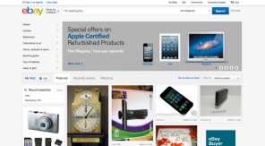 Waarom eBay haar redesign op Pinterest lijkt